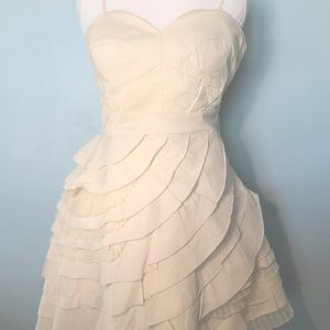 ModCloth Baklava Beauty Dress in Cream